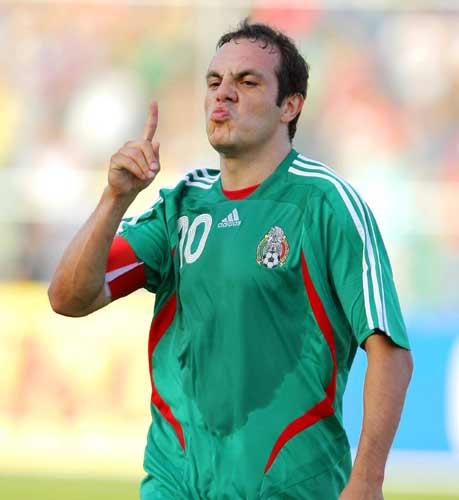 seleccionados mexicanos para el partido vs. nueva zelanda