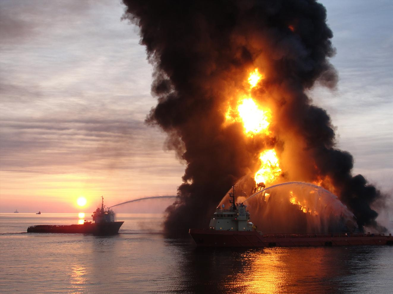 petróleo explosión