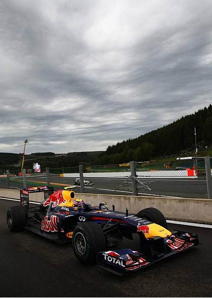 SPA Francorchamps / Formula 1 / 2011 / FOM / BBC / FOX