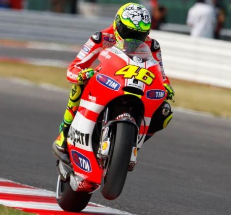 Valentino Rossi / San Marino / MotoGP / 2011 / ESPN